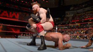 Y a pesar de todo, Sheamus no ganó. Fotografía perteneciente a la WWE.