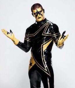 Cody Rhodes como Stardust.