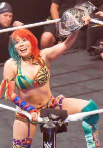 Asuka, actual campeona de NXT, defenderá el título contra Mickie James en Toronto.