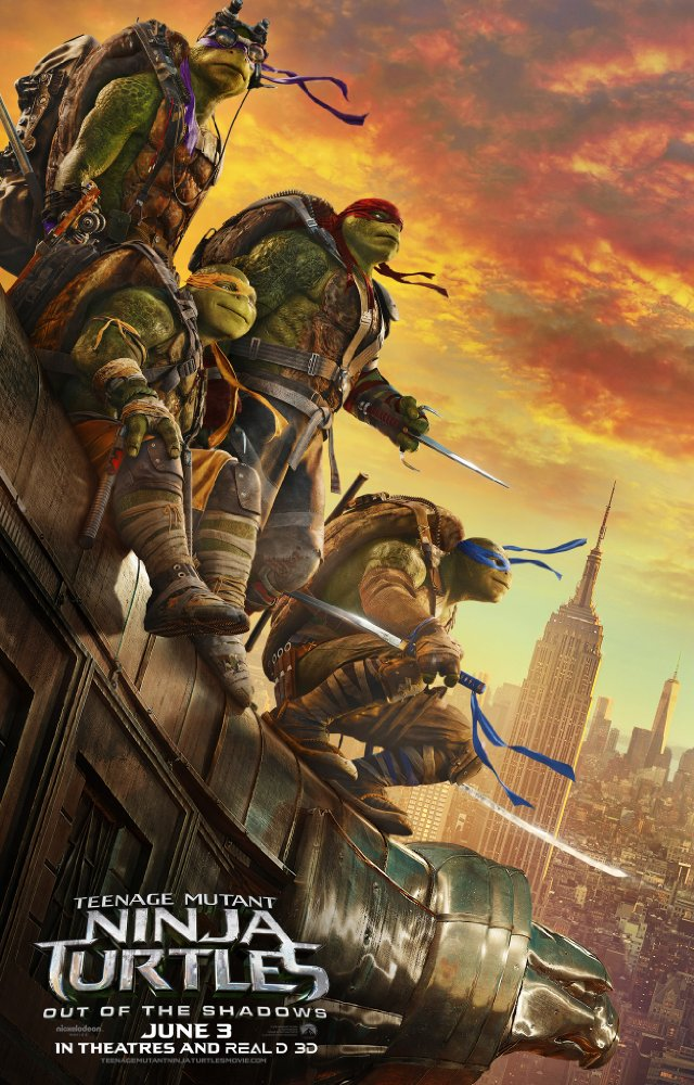 Ninja Turtles: Fuera de las sombras/ Teenage Mutant Ninja Turtles: Out of the shadows.